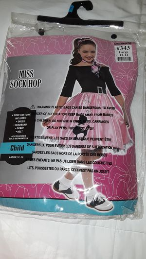 Girl's costume size 12-14 for Sale in Los Angeles, CA