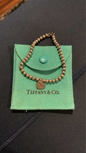 Tiffany's Bracelet with Heart for Sale in Davenport, FL