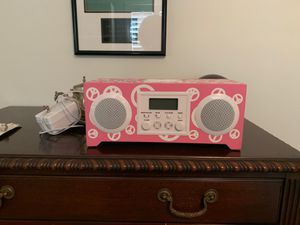 Pottery barn peace radio alarm clock for Sale in Fort Lauderdale, FL