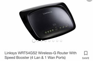 Linksys Router for Sale in Blackfoot, ID