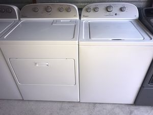 💫WHIRLPOOL WASHER & DRYER 💲450 (FINANCING AVAILABLE) 💫 for Sale in Arlington, TX