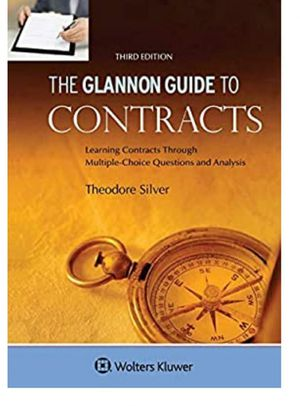 The Glannon Guide To Contracts 3rd edition for Sale in Anaheim, CA
