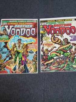 Strange tales 169 And 170 1st Brother Voodoo Comic. Key Comics for Sale in Los Angeles,  CA