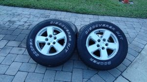 Jeep Grand Cherokee rims wheels tires rim wheel tire for Sale in Kissimmee, FL
