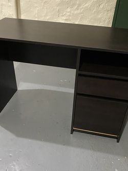 Computer Desk with Drawers, Writing Study Desk with File Cabinet for Sale in Queens,  NY