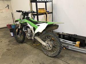 2017 Kawasaki KX 450F for Sale in Hampton, VA