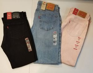 New Levi Jean's Size 32×29 & 32×30 for Sale in East Saint Louis, IL