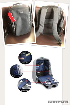 Hanke Travel Backpack, Anti-Theft Business Laptop Backpack Safer Daypack for Sale in FX STATION, VA