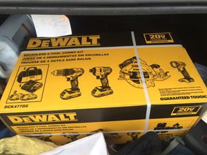 Dewalt set for Sale in Tampa, FL