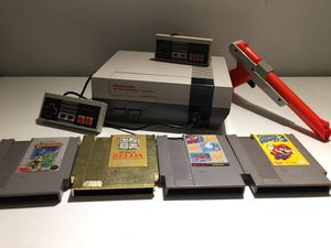 1985 Nintendo Entertainment System and Games for Sale in Nashua, NH