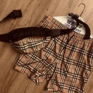 Burberry Fanny Pack And Swim Trunks for Sale in Bristol, PA