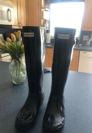 Hunter rain boots size 6 for Sale in Dunedin, FL