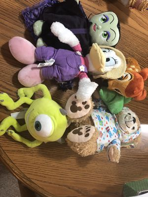 NWT Authentic Disney Parks stuffed Animals lot of 5 for Sale in Waterford Township, MI