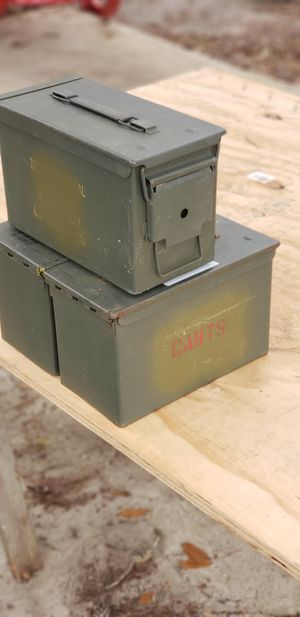 5.56 Ammo Cans for Sale in Metcalf, GA