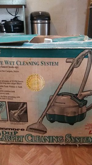 Kenmore wet dry vac carpet cleaning system for Sale in Fort Worth, TX