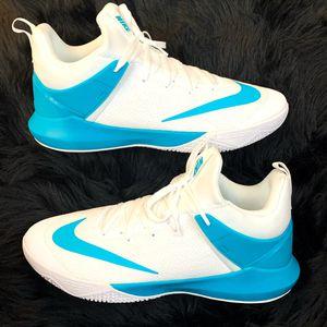 Nike Zoom Shift 942802-100 White/Aqua Blue Basketball Shoes -Men's Size 15 NWOB for Sale in Phoenix, AZ