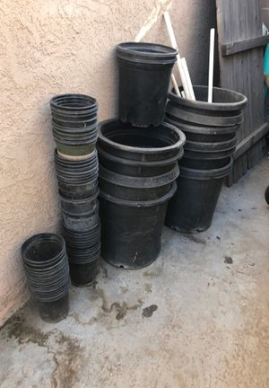 Pots for plants all different sizes 20 bucks for all for Sale in Pico Rivera, CA