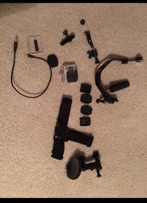 GoPro Hero 4 with attachments for Sale in Dallas, TX