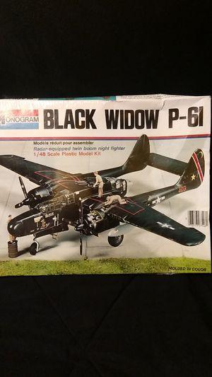 Monogram black sealed model 1:48 p-61 for Sale in Chicago, IL