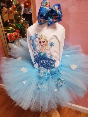 Elsa frozen tutu for Sale in Glendale, AZ