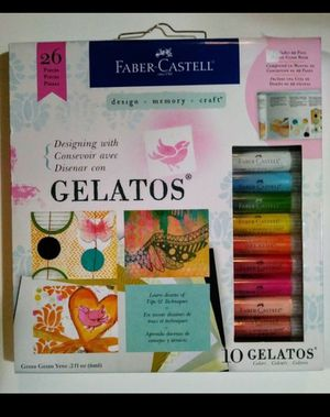 Faber-Castell Designing with Gelatos Kit for Sale, used for sale  Seattle, WA