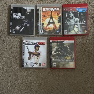 PS3 Games for Sale in Middletown, CT