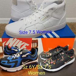 New Women's Nike/Adidas Shoes Sz 6Y/Size 7.5 W for Sale in Vancouver,  WA