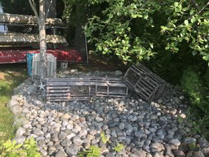 Authentic retired lobster traps (2) for Sale in Waterville, ME