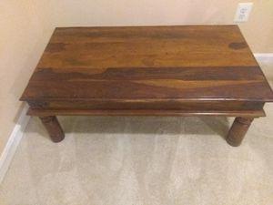 Solid wood coffee table for Sale in Leesburg, VA