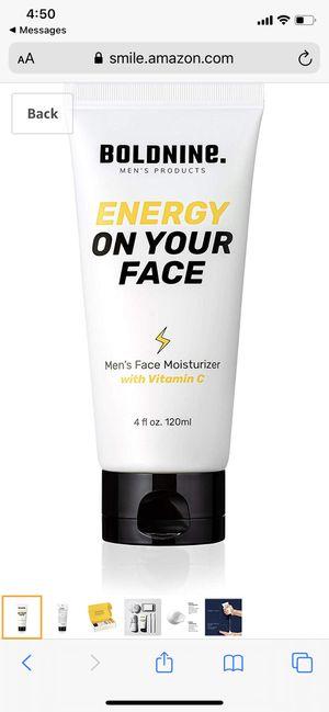 Men's Face Moisturizer with Vitamin C for Sale in Revere, MA