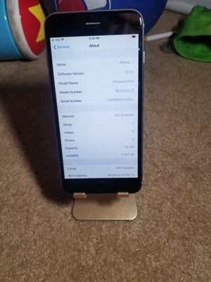 Iphone 6 plus 64 GB factory unlocked for Sale in Walnut Creek, CA