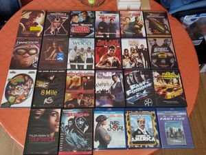 $50 FOR ALL(Great Deal) DVD LOT OF 23. WITH DVD HOLDER for Sale in The Bronx, NY