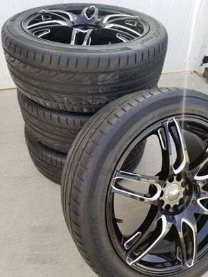 """20"""" F Kethos Wheels & Hankook Tires for Sale in Chicago, IL"""