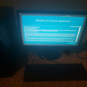 HP Pavillion Desktop PC and Toshiba DVD for Sale in Norco, CA