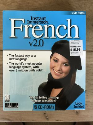 Instant Immersion French v2.0 for Sale in Vallejo, CA