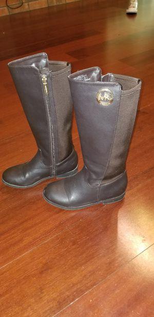 Michael Kors Girls Brown Boots Size 3 for Sale in Mandeville, LA