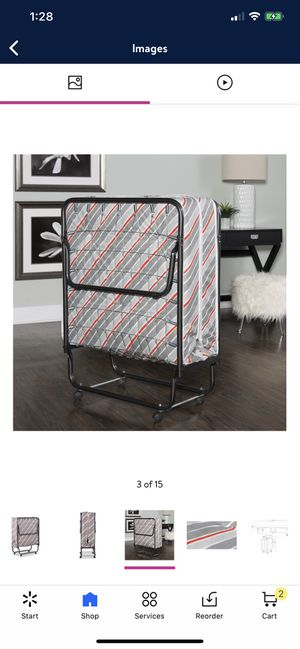 Folding Rollaway Guest Bed for Sale in Oakland, CA