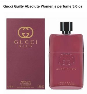 Cucci guilty absolute perfume 3.0oz for Sale in Visalia, CA