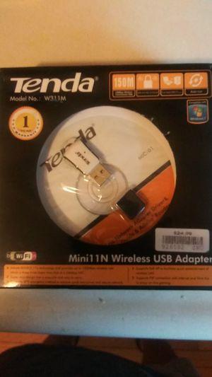 Tenda Mini 1N Wireless USB Adapter for Sale in Detroit, MI