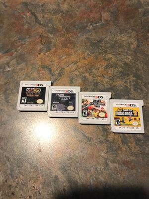 Nintendo 3DS games and 3DS w/ charger and charger box for Sale in Federal Way, WA