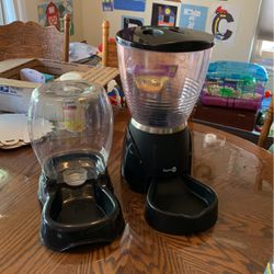 Aspen Pet Programmable Food Dispenser And Water Dispenser For Cat Or Dog for Sale in San Jose,  CA