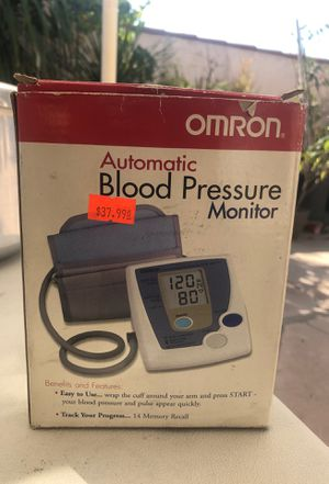 Blood pressure monitor for Sale in Whittier, CA