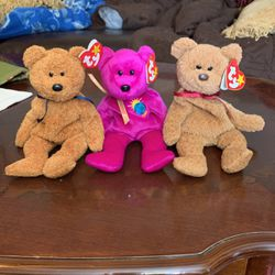 3 Beanie Baby Bears for Sale in Livermore,  CA