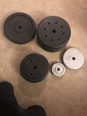 Barbel and bench weight for Sale in Virginia Beach, VA