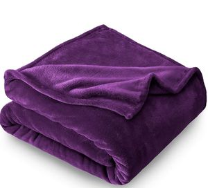 Bare Home Microplush Velvet Fleece Blanket - King Size - Ultra-Soft - Luxurious Fuzzy Fleece Fur for Sale in Miami Beach, FL