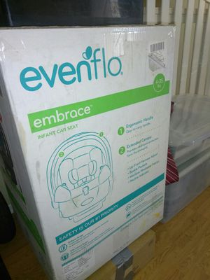 Infant car seat Evenflo for Sale in Anaheim, CA