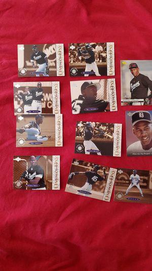 Michael Jordan baseball cards lot for Sale in YSLETA SUR, TX