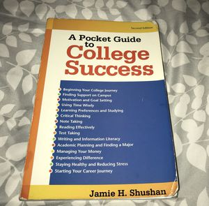 A Pocket Guide to College Success for Sale in Fort Worth, TX