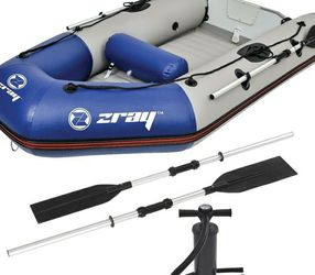 8 Foot Inflatable Boat With Pump And Oars for Sale in Londonderry,  NH
