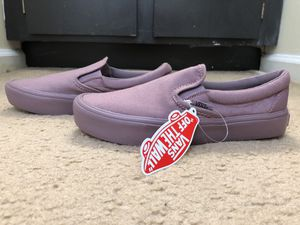 Vans Slip-On Lite in Mauve - Size 6.5 for Sale in Wilmington, NC